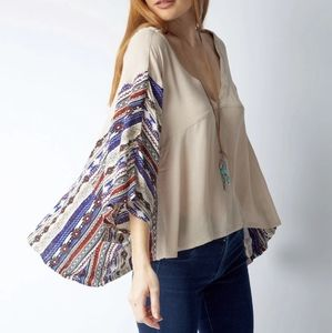 BoHo Loose Fitting top with Pockets